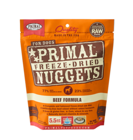 Primal Pet Foods Primal Dog Freeze Dried Beef 5.5 oz