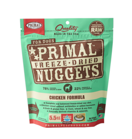 Primal Pet Foods Primal Dog Freeze Dried Chicken 5.5 oz