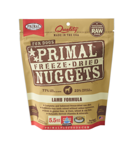 Primal Pet Foods Primal Dog FD Food Lamb 5.5 oz