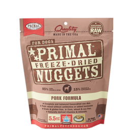 Primal Pet Foods Primal Dog Freeze Dried Pork 5.5 oz