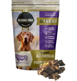 K9 CHOICE K9 Choice Smoked Pancreas 227g