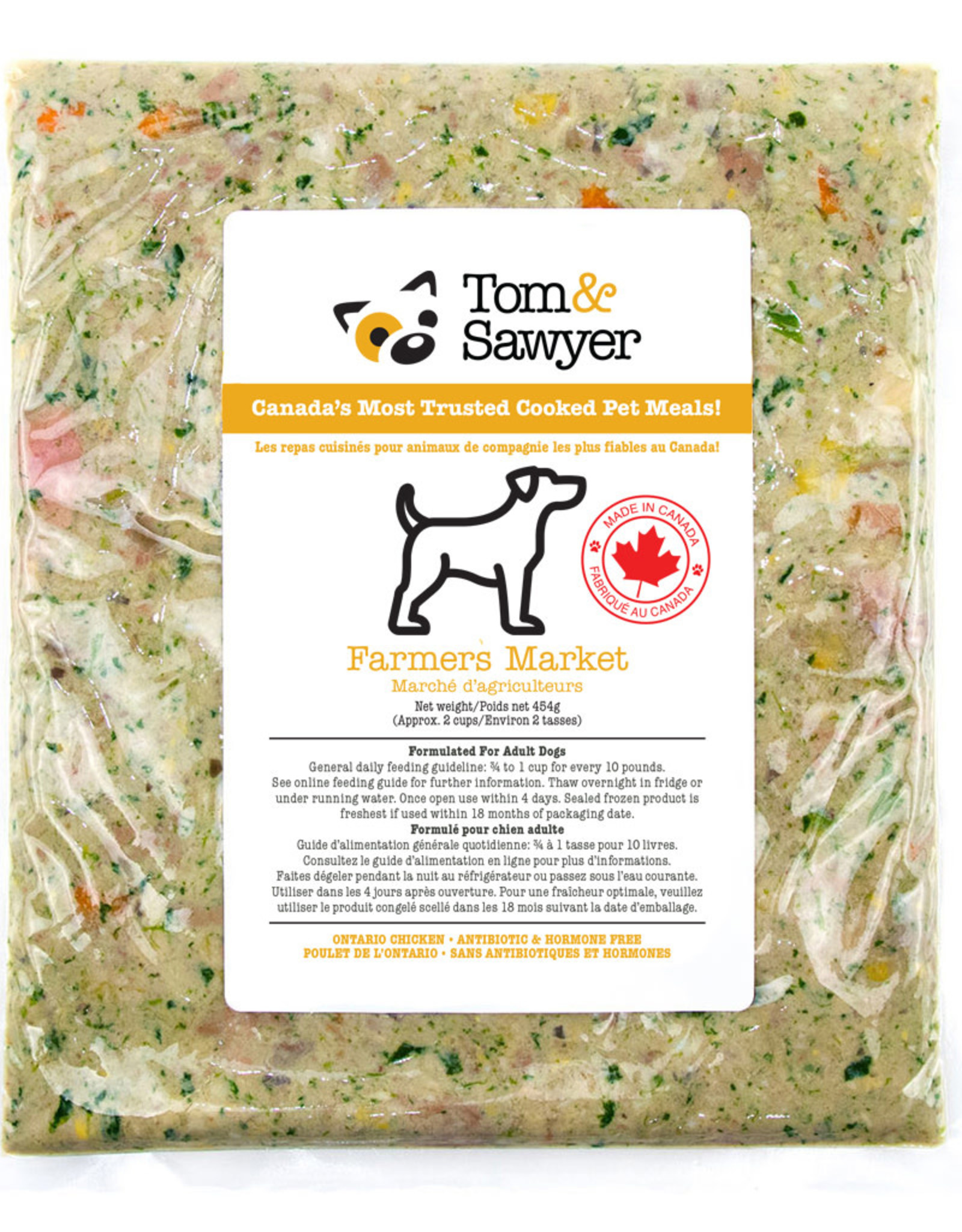 Tom & Sawyer Frozen - Farmers Market 454GM