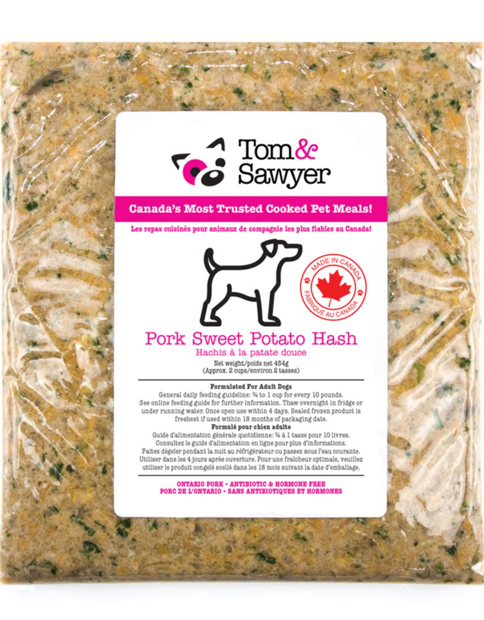 Tom & Sawyer Frozen - Pork Sweet Potato Hash 454GM