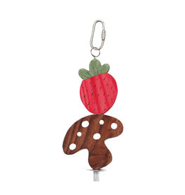 LIVING WORLD LW Nibblers, Wood Chews, Strawberry & Mushroom on a Stick