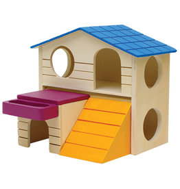 LIVING WORLD Living World Playground Play House - Large - 16.5 x 16.5 x 15 cm (6.5 x 6.5 x 5.9in)