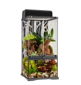 "EXO-TERRA Exo Terra Advanced Paludarium & Rainforest Terrarium - Mini X-Tall - 30 W x 30 D x 60 H cm (12"" x 12""x 24"")"