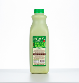 Primal Pet Foods Primal Frozen Raw Goat Milk Green Goodness Quart / 32 oz