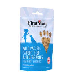 First Mate FirstMate Dog LID GF Fish & Blueberries Cookies 8 oz