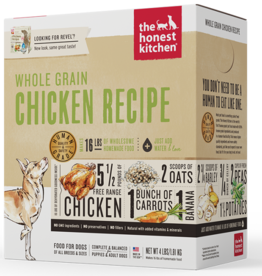 Honest Kitchen HK Dog Dehydrated Whole Grain Chicken 4 lb