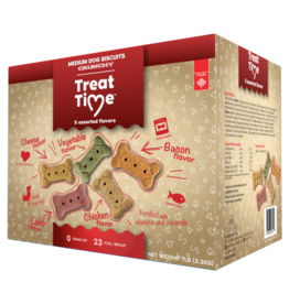Treat Time Treat Time Medium Assorted Biscuit 7 lb
