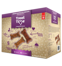 Treat Time Treat Time Medium Basted Biscuit 7 lb