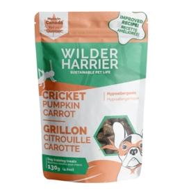Wilder Harrier WH Cricket Pumpkin Carrot Hypo Training Treats 130 g
