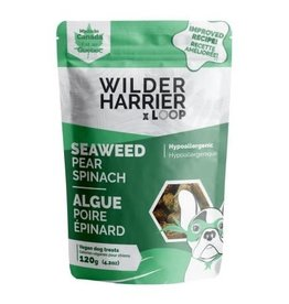 Wilder Harrier WH Vegan Biscuits Seaweed Pear Spinach Hypo 120 g