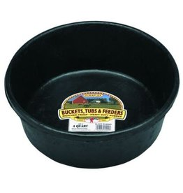 Litter Giant Little Giant 4quart Rubber Feeding Pan