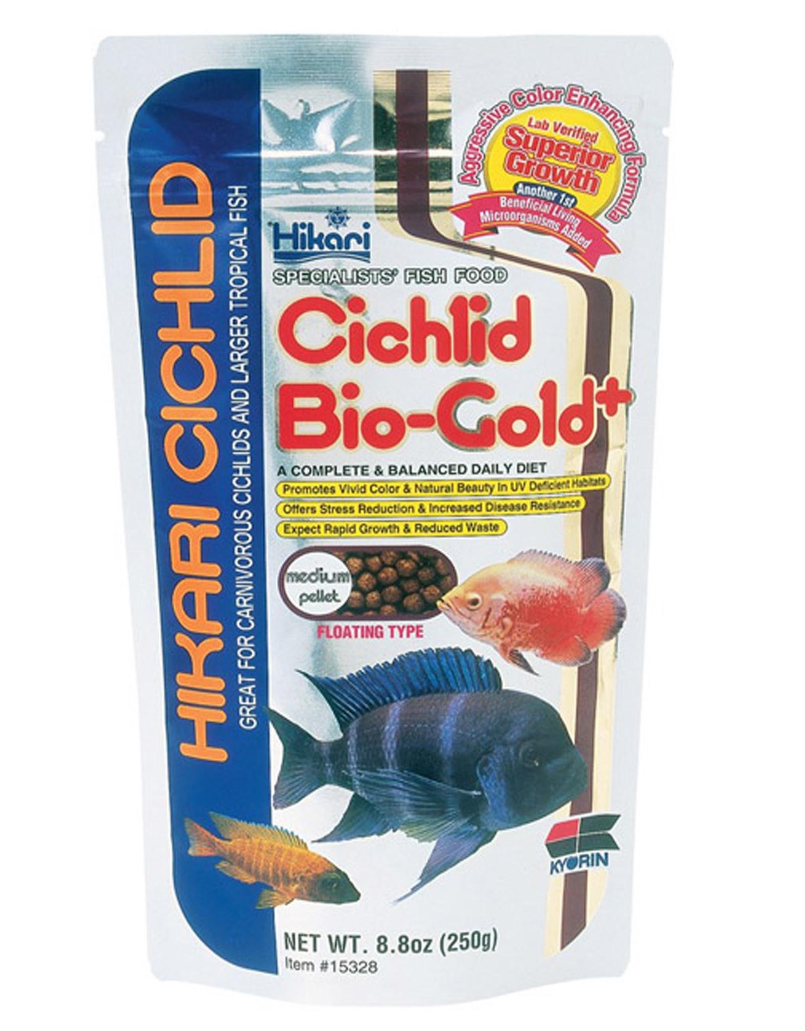 HIKARI USA INC. Hikari Cichid Bio-Gold Med 8.8oz