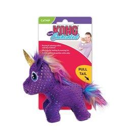 KONG KONG Buzzy unicorn w/catnip