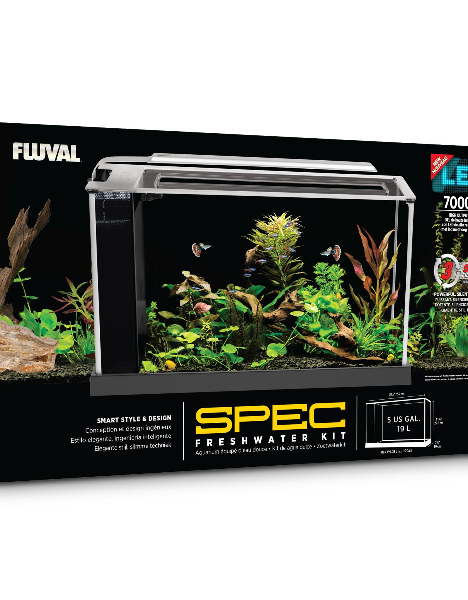 Fluval Sea Fluval Spec V Aquarium Kit 5 gal.