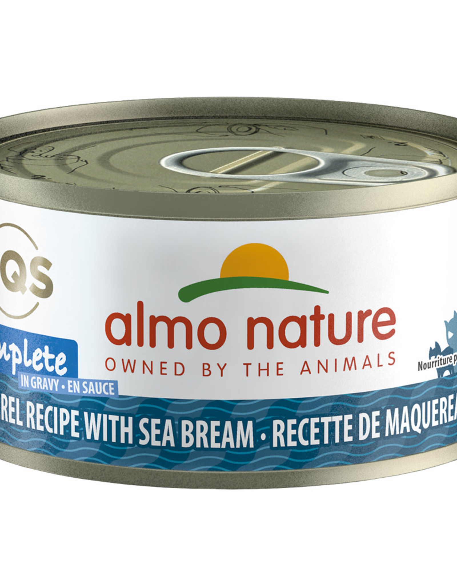 Almo Nature Almo Mackerel with Sea Bream in Gravy 70GM | Cat