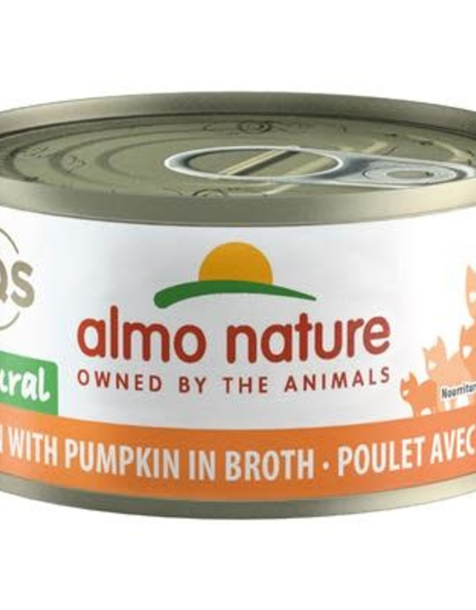 Almo Nature Chicken with Pumpkin in Broth 24/70GM Cat