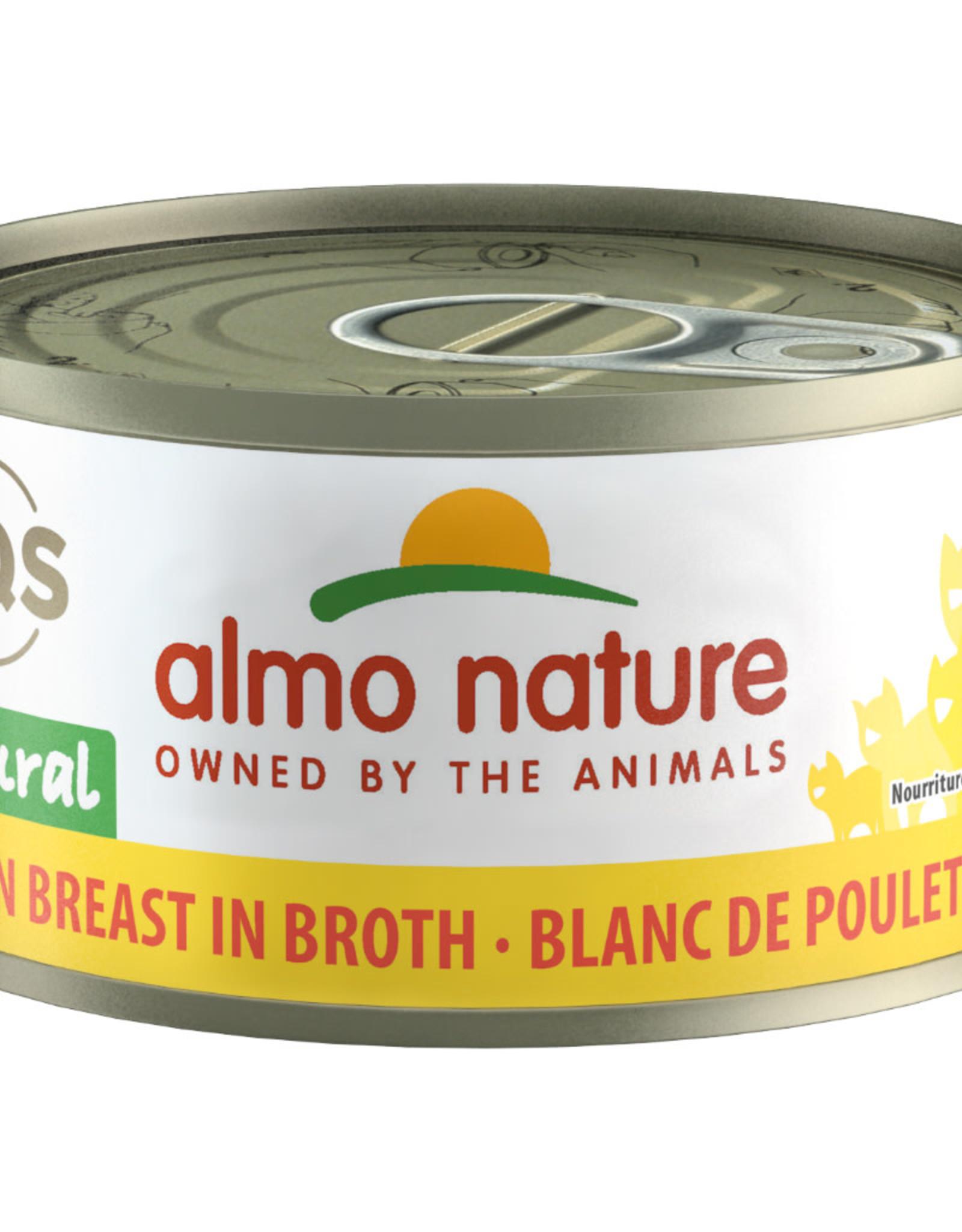 Almo Nature Chicken Breast in Broth 24/70GM Cat