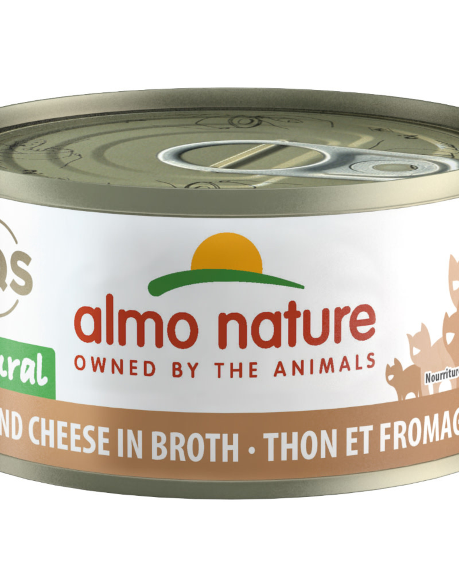 Almo Nature Almo Tuna and Cheese in Broth 70G