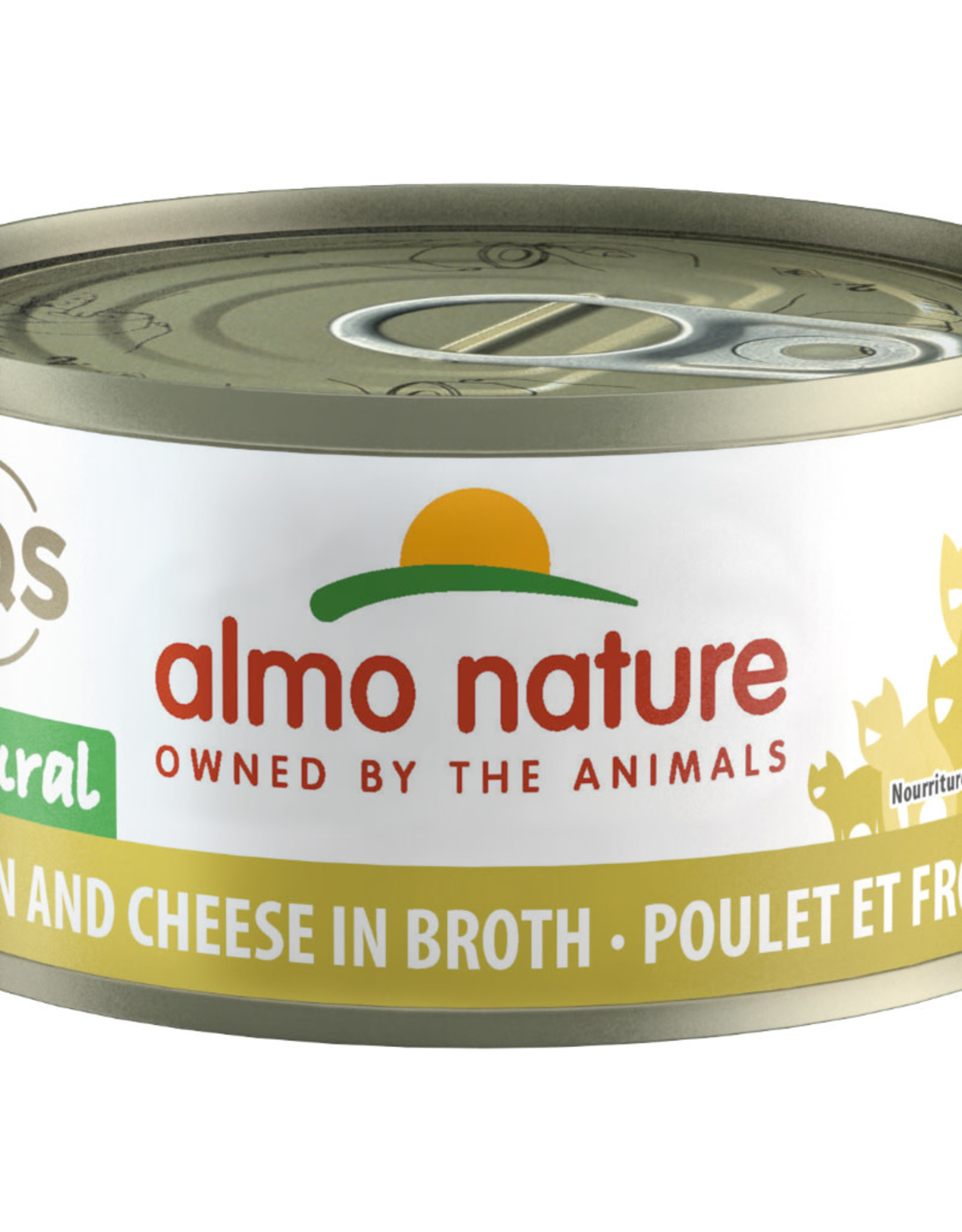Almo Nature Almo Chicken and Cheese in Broth 70G