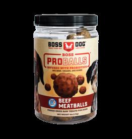 Boss Dog Boss Dog FD ProBalls Raw Beef Meatballs 170GM