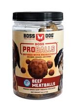 Boss Dog Boss Dog FD ProBalls Raw Beef Meatballs 85GM