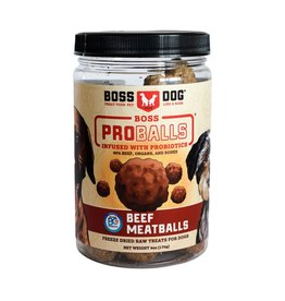 Boss Dog Boss Dog FD ProBalls Raw Beef Meatballs 85GM