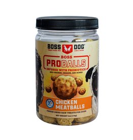 Boss Dog Boss Dog FD ProBalls Raw Chicken Meatballs 85GM