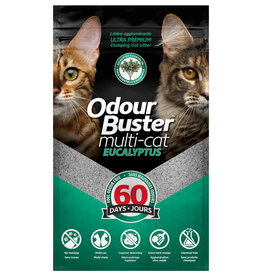 Odour Buster Odour Buster Multi-Cat Clumping Eucalyptus 12KG