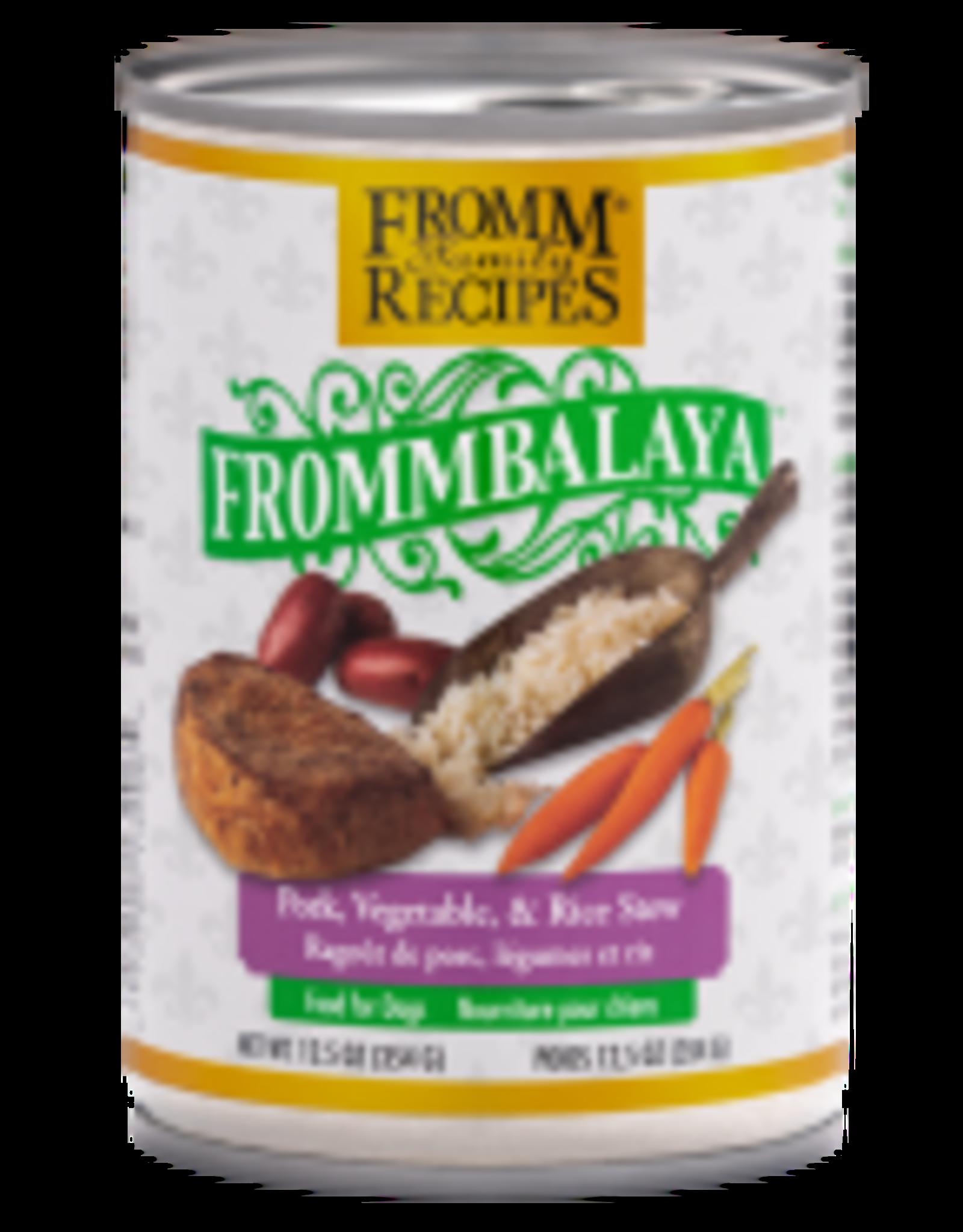 Fromm Fromm Dog Frommbalaya Pork Veg & Rice Stew 12.5 oz