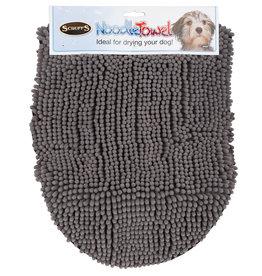 Scruffs Noodle Dry Towel Grey 31 x 12in