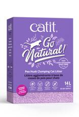 CATIT Catit Go Natural! Pea Husk Clumping Cat Litter - Lavender - 14 L box