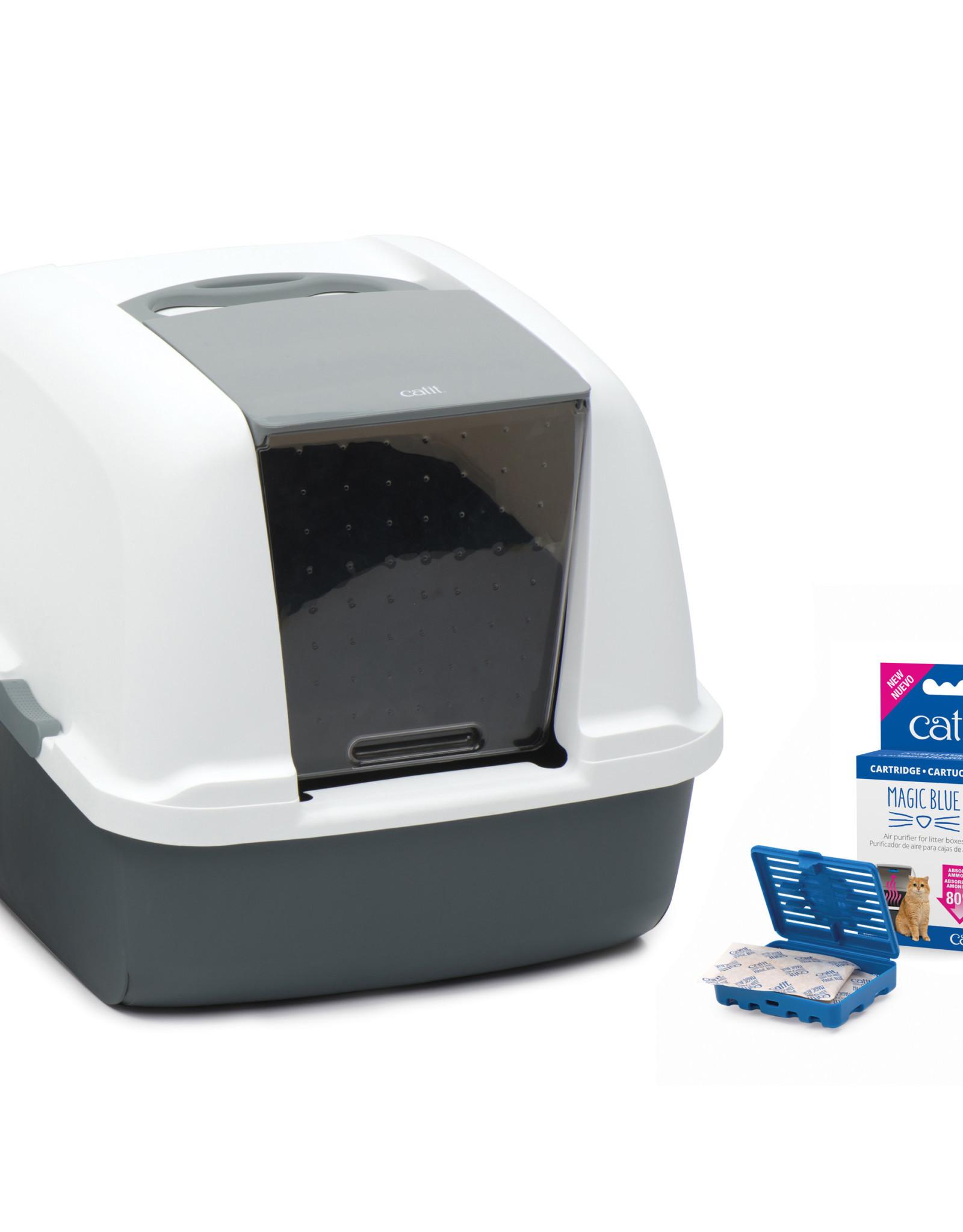 CATIT Catit Magic Blue Litter Box - Jumbo