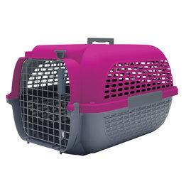 DogIt Dogit Voyageur Dog Carrier - Fuchsia/Charcoal - Small - 48.3 cm L x 32.6 cm W x 28 cm H (19 in x 12.8 in x 11 in)