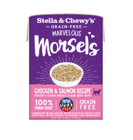 Stella & chewy's Stella&Chewys Cat Marvelous Morsels Chicken&Salmon 5.5 oz