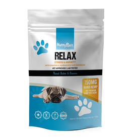Happy Paws Happy Pawz Relax Hemp 1mg Chews 150g