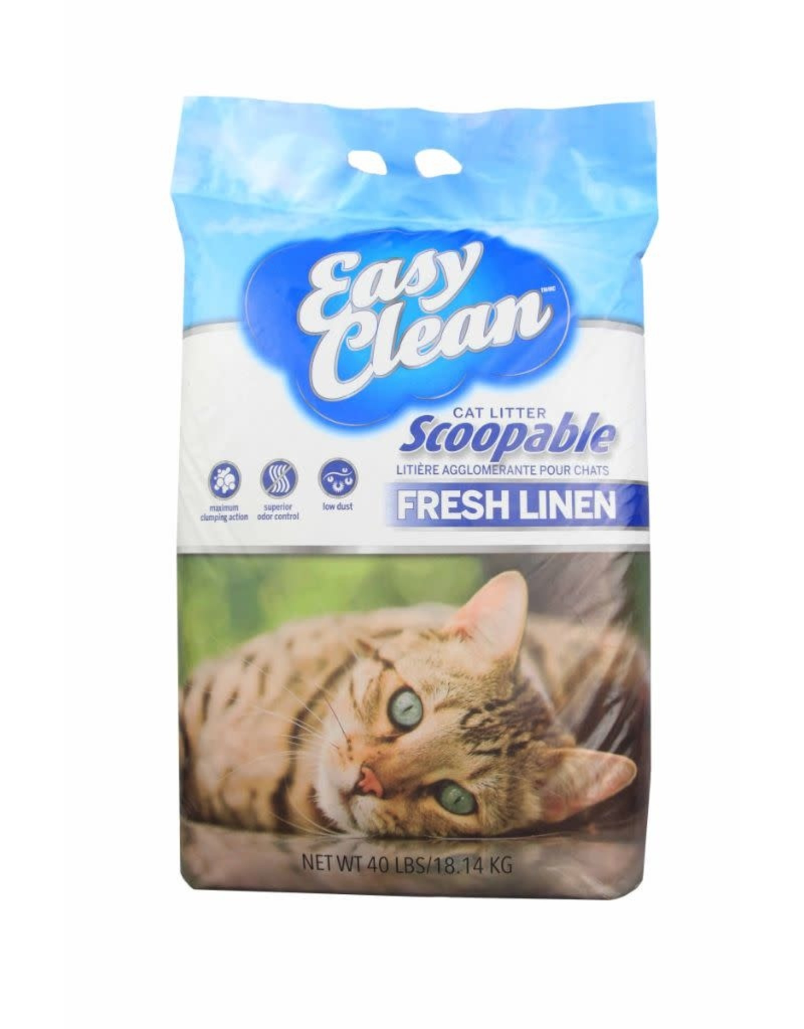 PESTELL PET PRODUCTS Copy of Easy Clean Unscented Clumping Cat Litter 20LB