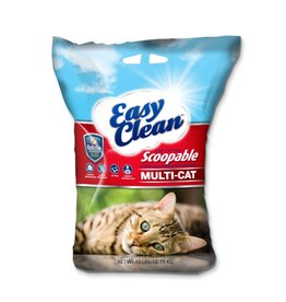 PESTELL PET PRODUCTS Easy Clean Scoop Litter Multi-Cat 40LB