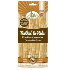 NOTHIN TO HIDE NOTHING TO HIDE Twist Stix Peanut Butter Small 10PK