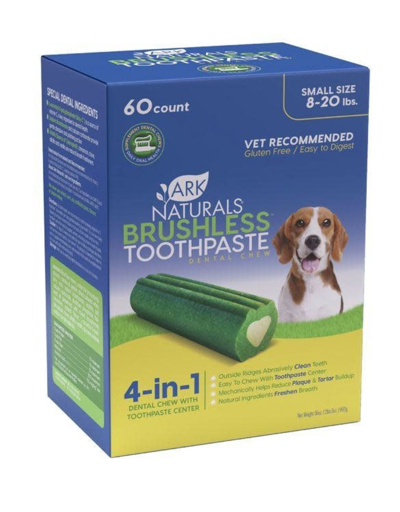 Ark Naturals Brushless Toothpaste Small 60CT