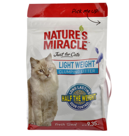 Nature's Miracle NM JFC Light Weight Clumping Litter 9.35 lb