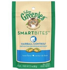 Feline Greenies Smartbites Hairball Tuna 2.1OZ (12) / Cat