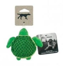 """Tall Tails Tall Tails 5""""Plush Turtle Squeaker Toy"""