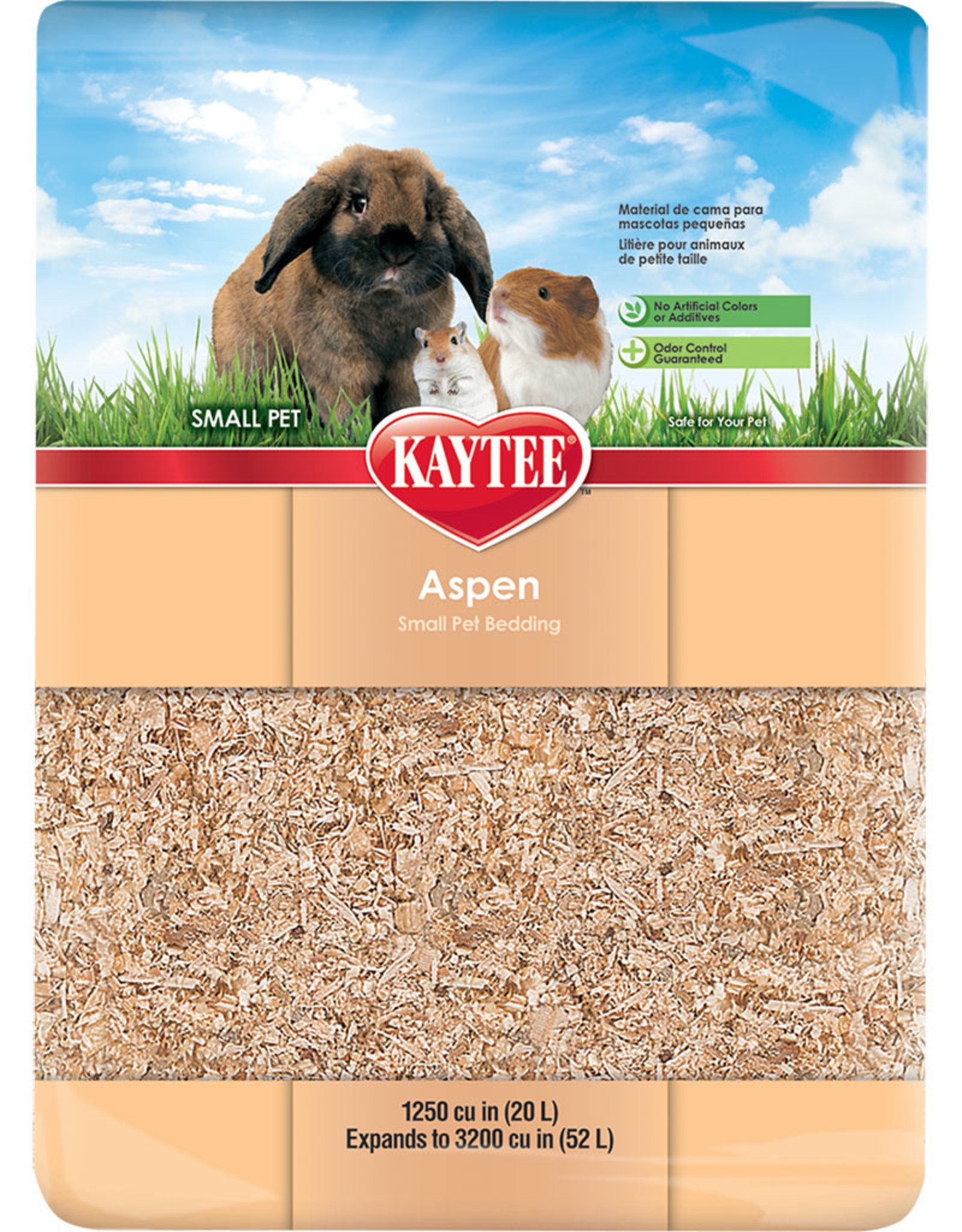 KAYTEE PRODUCTS INC Aspen Bedding 3200 Cubic Inch