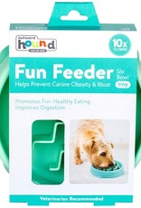OUTWARD HOUND Fun Feeder Slo-Bowl Mint Tiny | 3/4 Cup