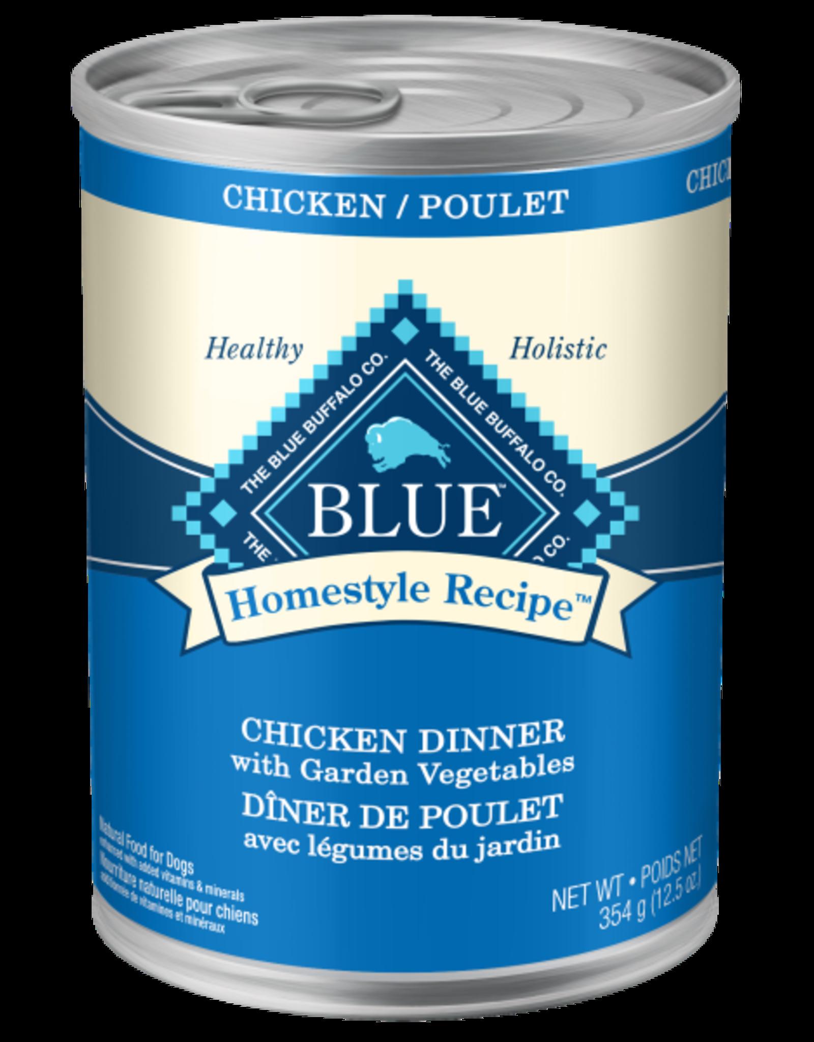 BLUE BUFFALO Blue Dog Homestyle Chicken & Brown Rice 12.5 oz