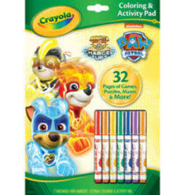 Crayola Crayola Paw Patrol Mighty Pups Clouring Activity Pad 32 pages