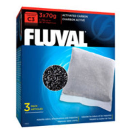 Fluval Fluval C3 Activated Carbon 3/70g
